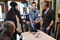 Filip Renč natáčí v Bořeticích krimiseriál Hlava Medůzy