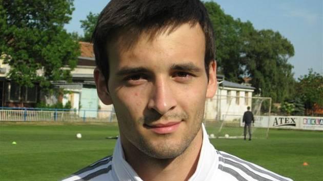 Jiří Paulík, střední záložník rezervního týmu fotbalistů MSK Břeclav.