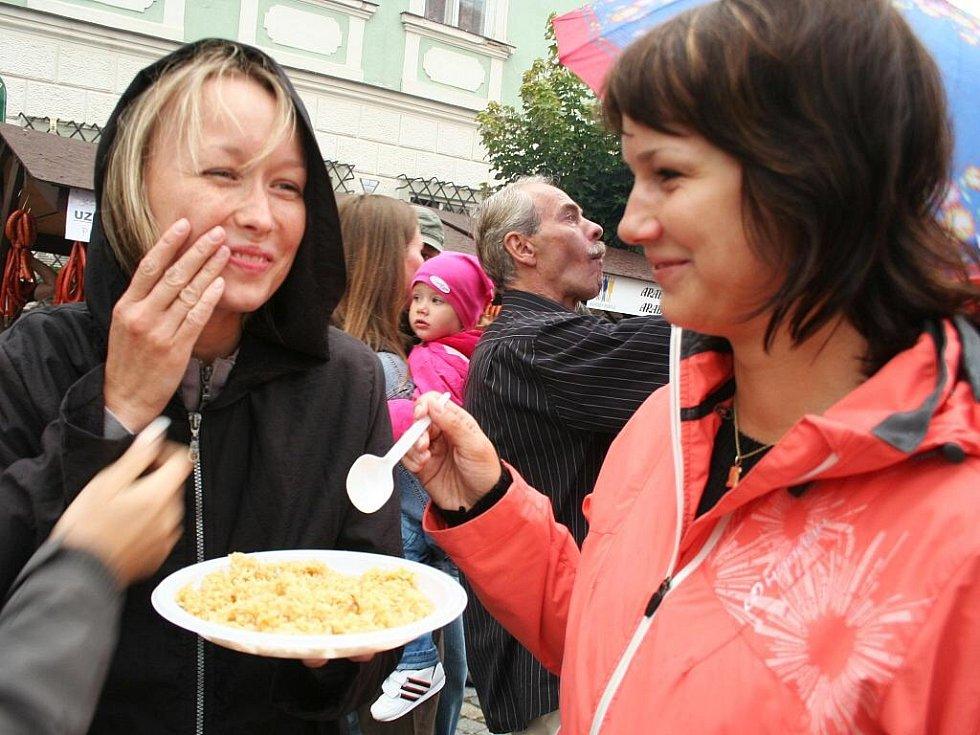 Festival Národy Podyjí v Mikulově.