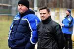 Dvojice Milan Hoffmann (vlevo) a Michael Benko vydržela na břeclavské lavičce necelý rok.