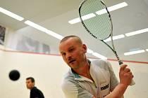 Břeclavská jednička Ladislav Burián získal v Ostravě mistrovský titul v kategorii Masters.
