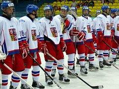 Česká osmnáctka si v Břeclavi užila oslavy bronzových medailí.