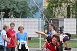 Břeclavští atleti hostili v sobotu na Lokomotivě 2. kolo první národní ligy.