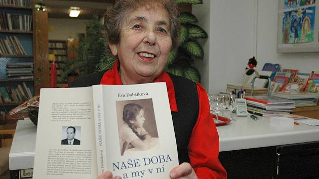 Sedmasedmdesátiletá rodačka z Vranovic Eva Dobšíková popsala v knize své válečné útrapy.