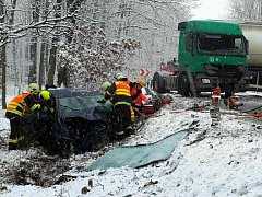 Nehoda u Valtic.
