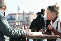 Davy lidí přijely v sobotu do Mikulova, kde se konal Pálavský Gulášfest.