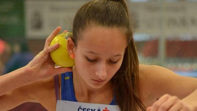 Břeclavská atletka Leona Vargová.