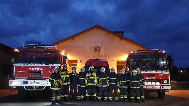 Valtičtí hasiči.