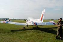 Letiště aeroklubu Břeclav-Ladná - ilustrační fotografie.