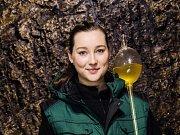 Libuše Vrbová je nadějnou mladou vinařkou z Hustopečí.