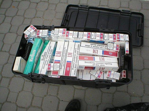Hlídka Celního ředitelství Brno zabavila cigarety v hodnotě téměř osmdesát tisíc korun.