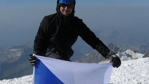 Jiří Dostoupil z Šakvic zdolal Mont Blanc.