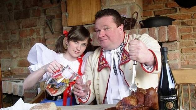 Franta Uher z Lanžhota oslavil padesáté narozeniny.
