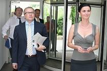 Ministr životního prostředí Tomáš Chalupa v pátek 24. června 2011 debatoval v lednickém hotelu o záměru vytvoření Chráněné krajinné oblasti Soutok.