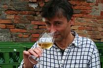 Velkopavlovický vinař Radomil Baloun.