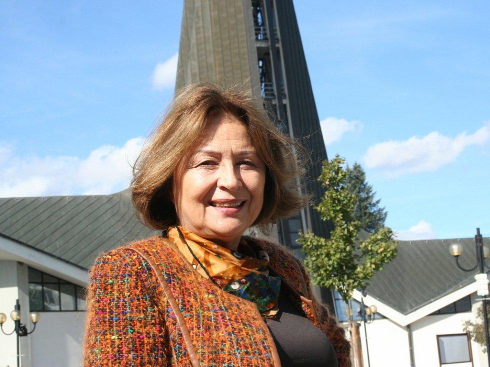 Herečka Emília Vášáryová