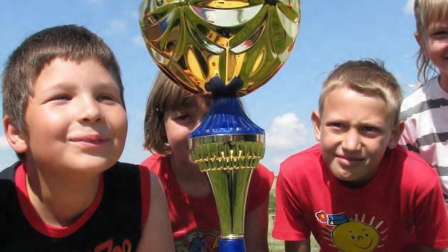 Olympiáda základních škol v Borkovanech.