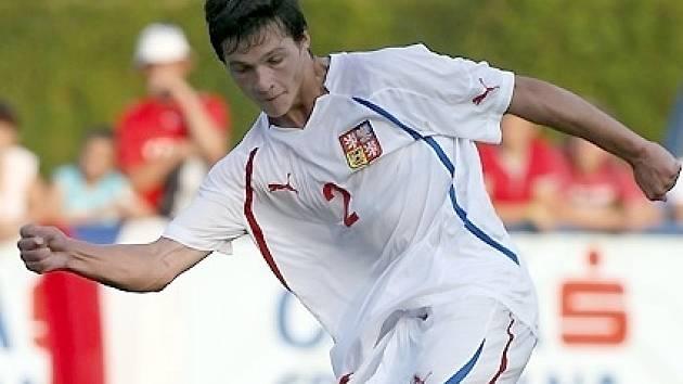 Krumvířský rodák Lukáš Michna to dotáhl přes Šardice a Slovácko až do mládežnické reprezentace.