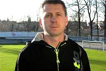 Trenér Michal Škrabko.