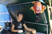Festival národů Podyjí nabídl nášvěvníkům na dvacet stánků se specialitami z různých evropských kuchyní.