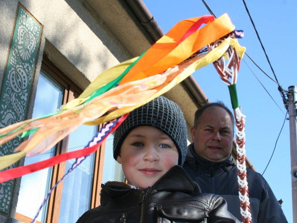 Koledníci na Břeclavsku vyrazili do ulic už časně z rána.
