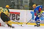 Břeclavští hokejisté podlehli na ledě Vsetína 2:5.