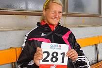 Atletka Adriana Bzirská.