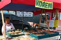 Farmářské trhy v Břeclavi.
