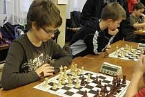 Vánoční turnaj v šachu v břeclavském Domě školství.