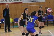Břeclavské volejbalistky postoupily do nadstavbové části první ligy.