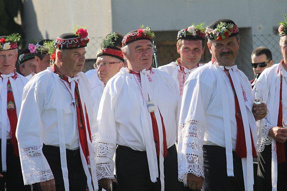 V Hruškách se sešly mužské sbory.