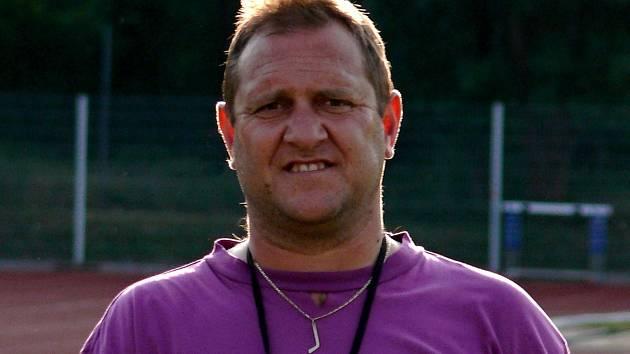 Trenér Michal Konečný dohlíží na přípravu břeclavských hokejistů už devátým rokem.