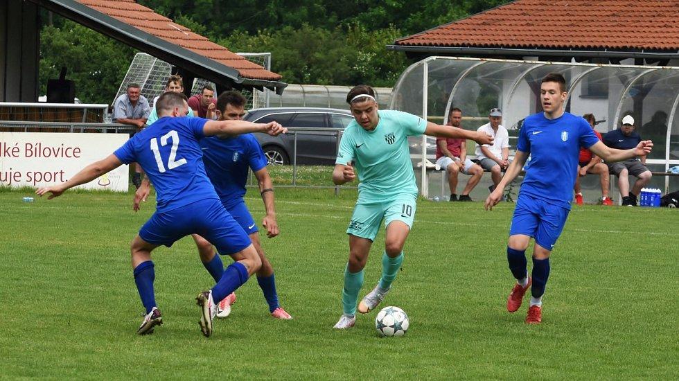 Moravan Lednice po výhře s divizní Břeclaví 1:0 stejným poměrem prohrál s Velkými Pavlovicemi.
