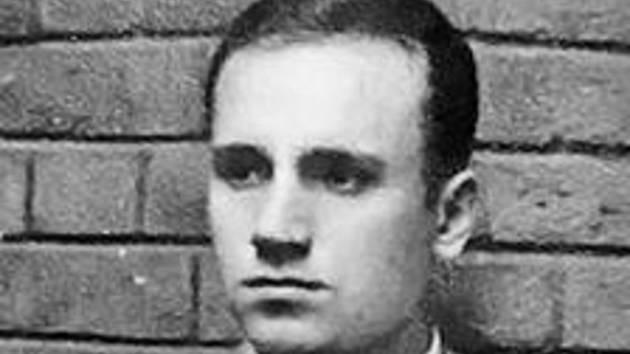 František Pavelka, výsadkář popravený nacisty.