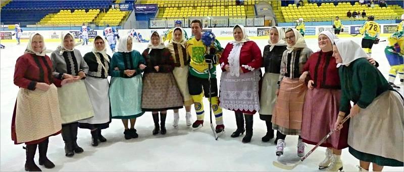 V neděli 19. září zažila Břeclav zcela unikátní hokejové utkaní.
