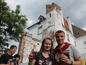 Slavnosti břeclavského piva. Ilustrační foto z roku 2017.