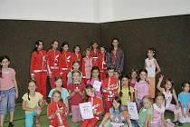 břeclavská děvčátka z E.M. Dancers