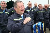Dobrovolní hasiči ze Staré Břeclavi.