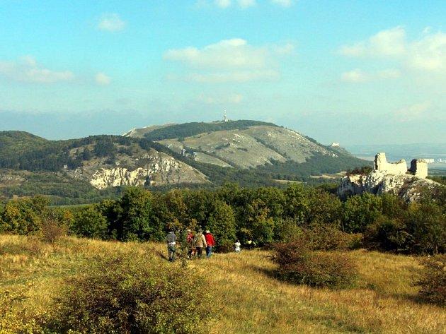 Stolová hora nad Klentnicí na Břeclavsku.