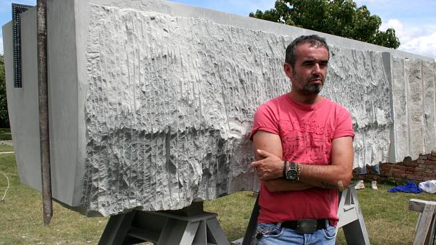 Sochař a malíř Radek Král