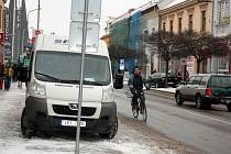 Břeclavsko se schovalo pod nový sníh.