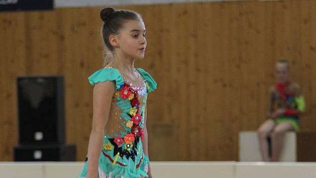 Suverénka. Adéla Baranovská podala výborný výkon a ve své kategorii suverénně zvítězila.