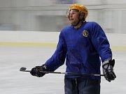 Břeclavští hokejisté se začali potit na ledě. Příprava jim potrvá měsíc a půl.