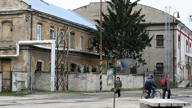 Areál bývalého břeclavského cukrovaru.