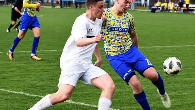 V 19. kole divize D prohráli fotbalisté MSK Břeclav se Žďárem nad Sázavou 1:4.