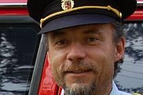 Ivan Murín je šéfem hasičů ve Strachotíně více než deset let.