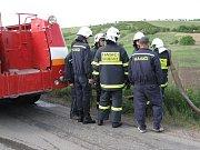 Dobrovolní hasiči z Brumovic