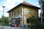 Železniční stanice Boří les.
