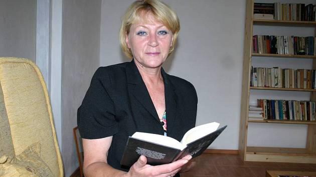 Spisovatelka Věra Fojtová.