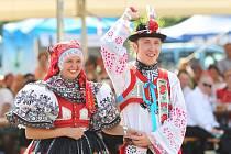 Setkání přátel jižní Moravy v břeclavském podzámčí.